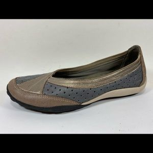 Privo Clarks Leather Ballet Flats Women's 6.5M